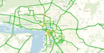 Пробки в Казани онлайн сейчас на карте Яндекс
