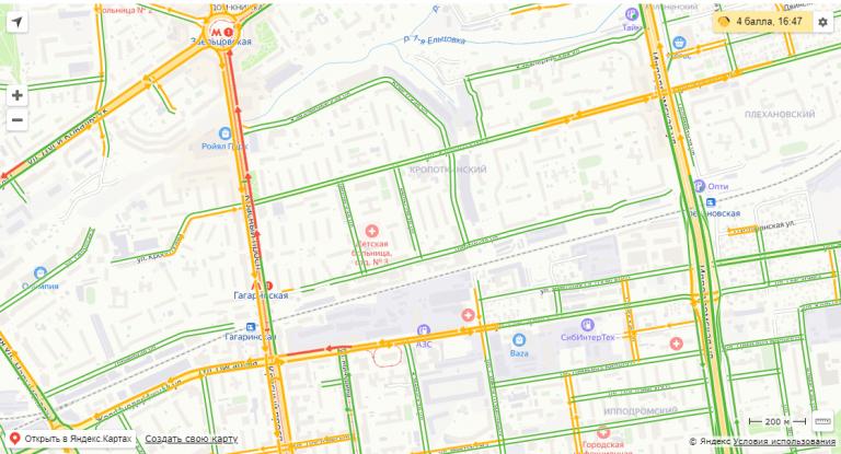 Красный проспект Новосибирска