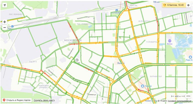 Московский район Казань